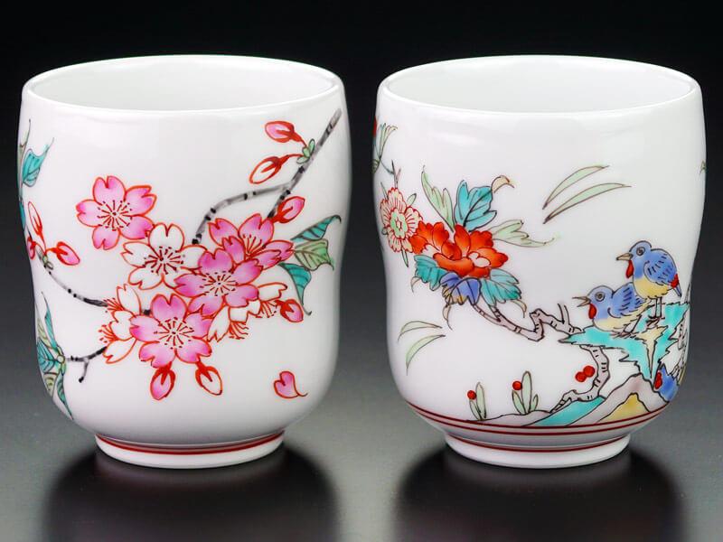 伊万里焼夫婦湯呑の画像