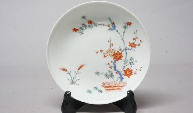 柿右衛門窯の絵皿