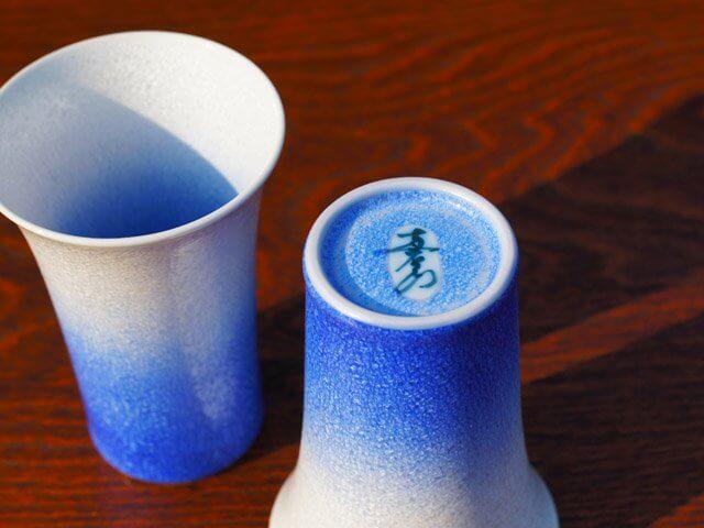 有田焼のペアビアカップ