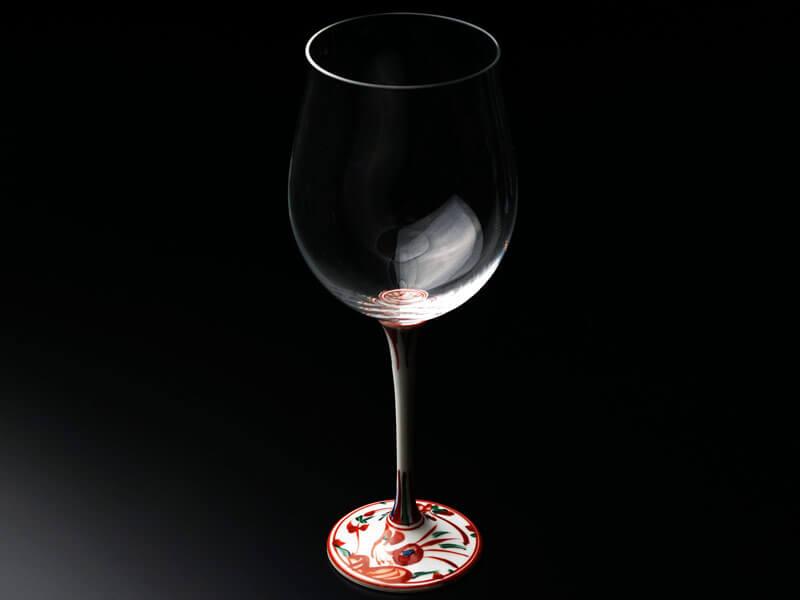 ペアワイングラスのバナー
