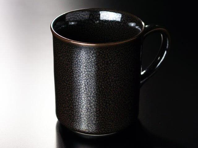 油滴天目のマグカップ