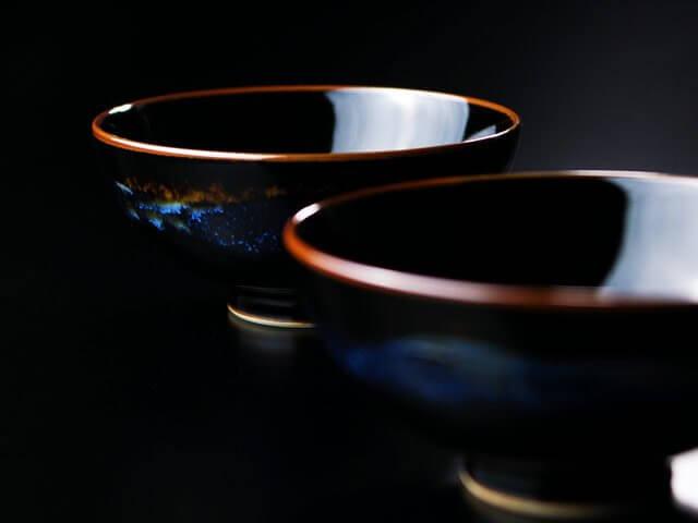 青き明星の組茶碗の画像