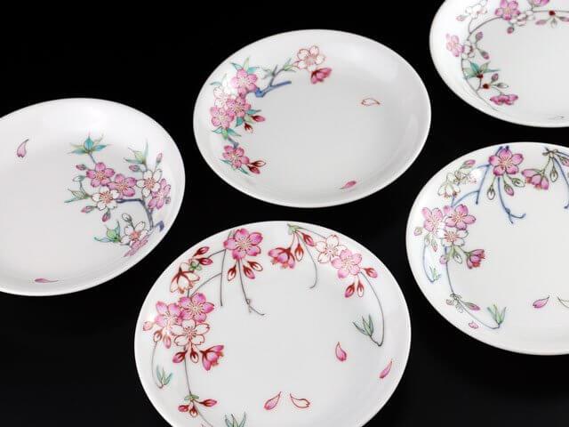 桜の皿セット