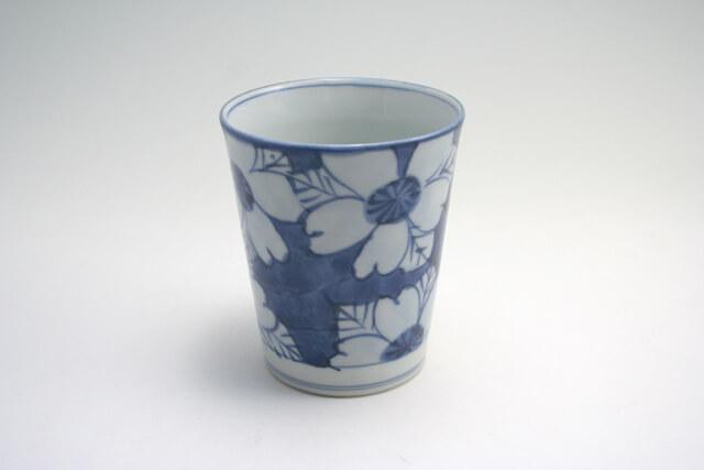 しん窯の花ミルクカップ
