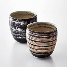 陶悦窯の焼酎カップ