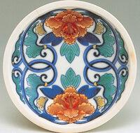 今右衛門窯の絵皿