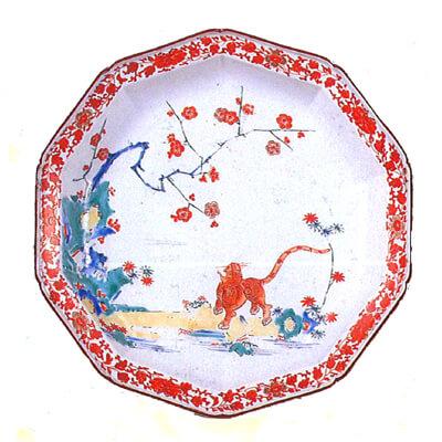 柿右衛門様式の皿