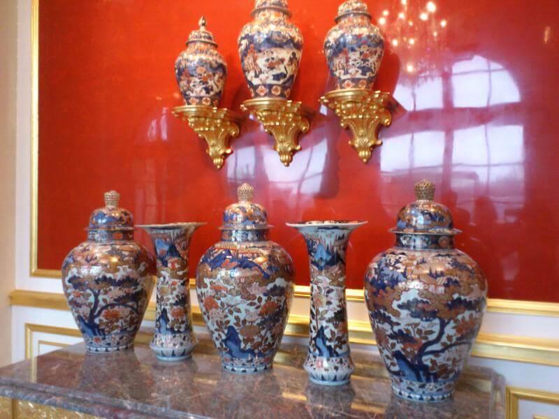 ドレスデン宮殿内の古伊万里
