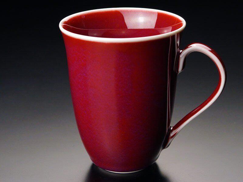 還暦祝いに人気の赤のマグカップ