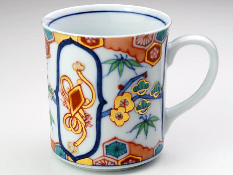 有田焼マグカップの画像