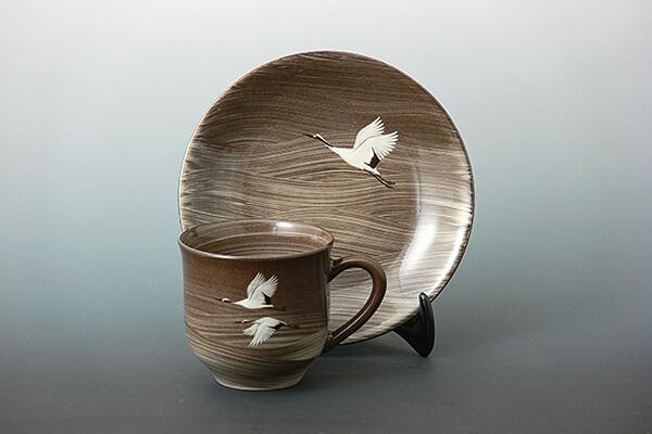 臥牛窯の特製コーヒーカップ