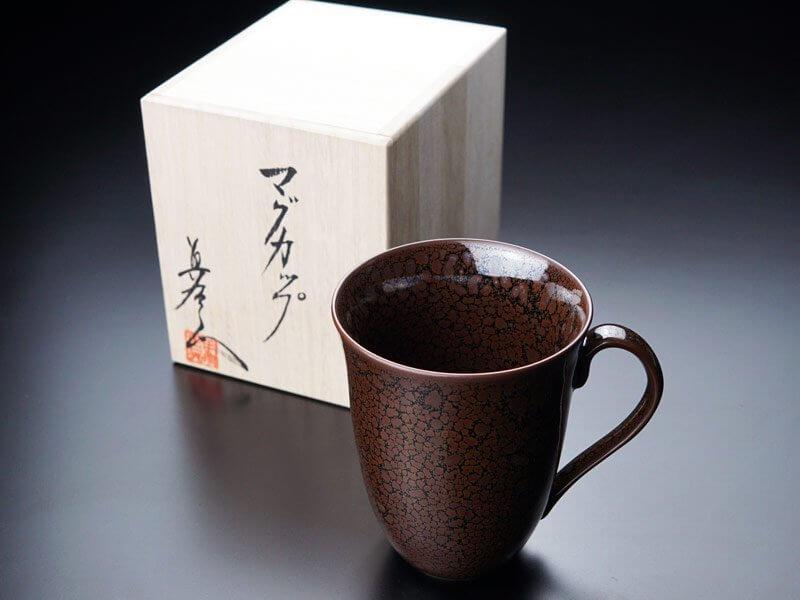龍鱗油滴天目マグカップ