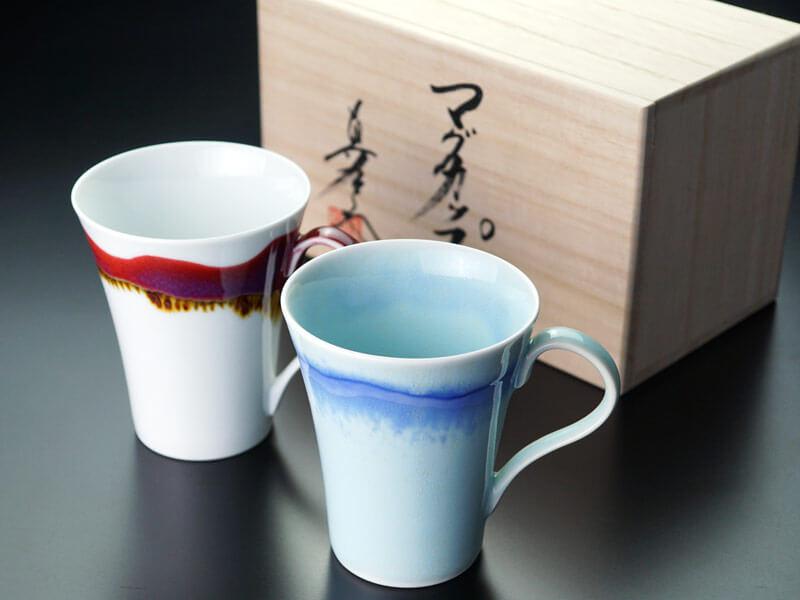 ペアマグカップ