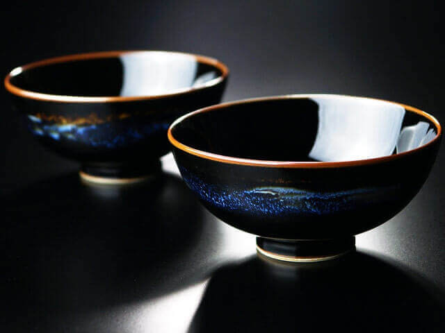 漆黒の夫婦茶碗