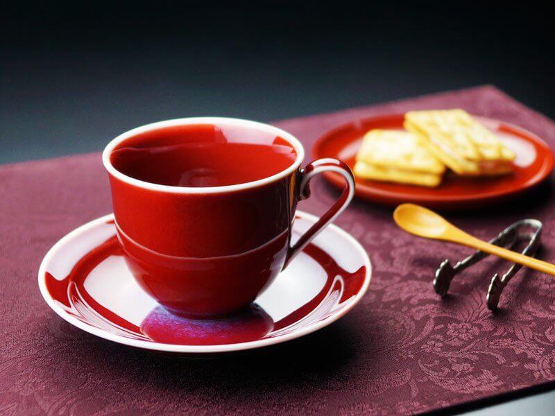 コーヒーカップ 燿変辰砂 60歳のプレゼント 還暦祝い品
