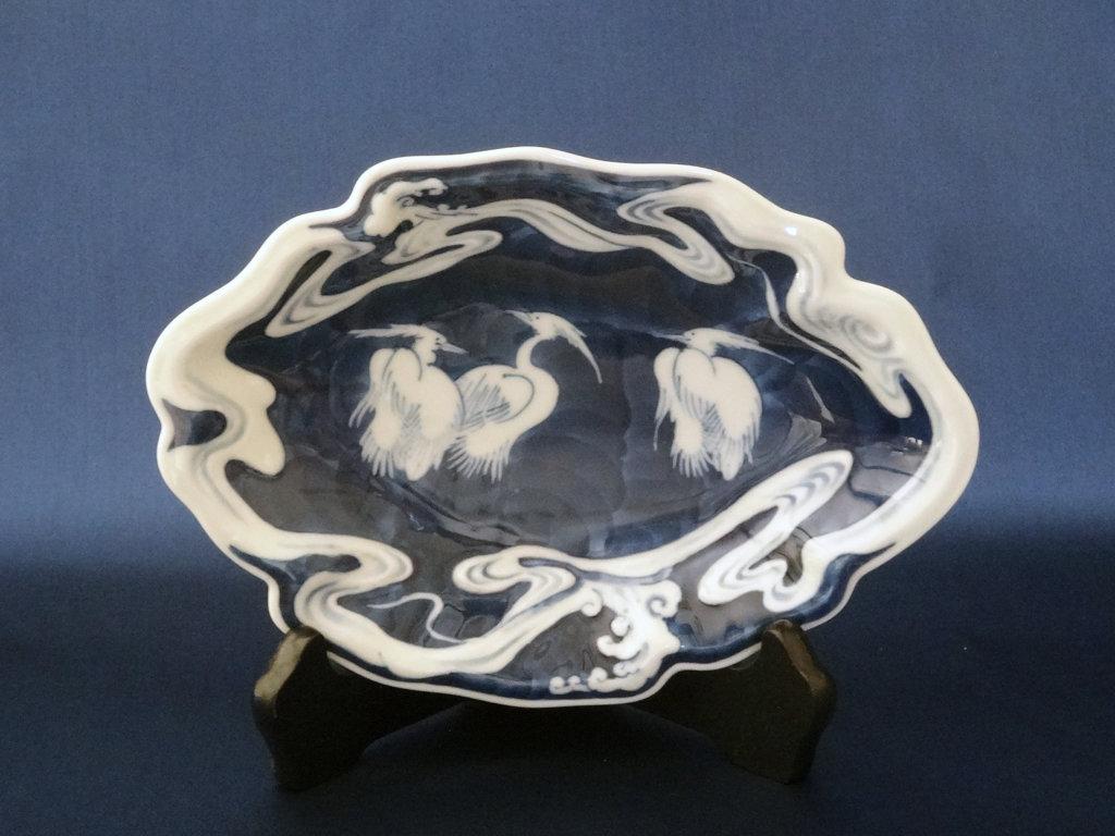 鍋島焼の皿
