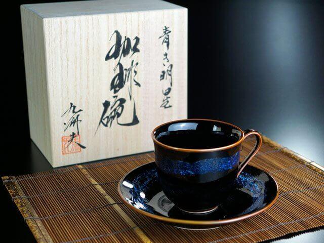 傘寿祝いのコーヒーカップ